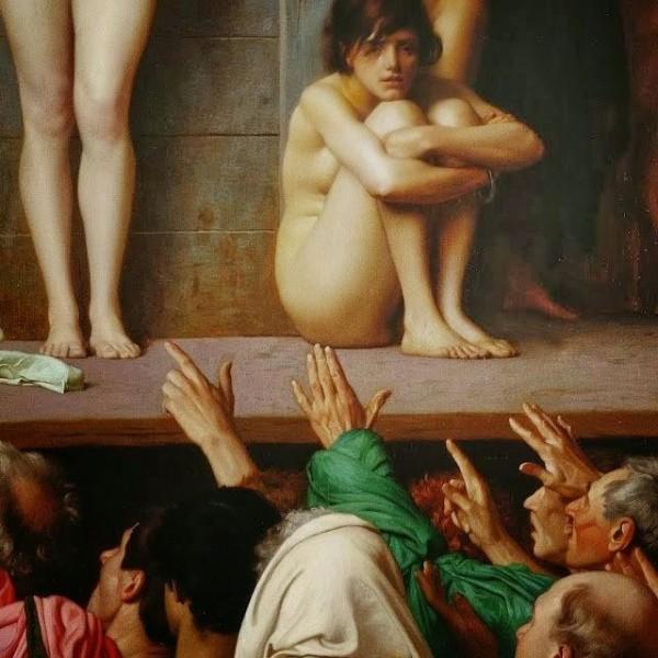 Из истории просвещенного Запада: англичане массово спаривали дешевых ирландских рабынь с дорогими африканскими рабами, чтобы не покупать рабов на рынках