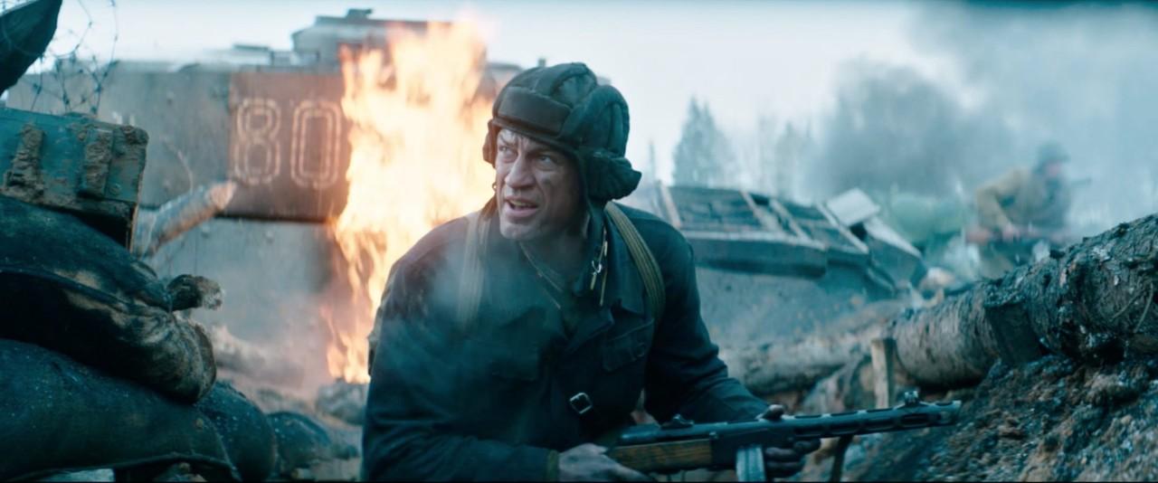 Подвиг советского солдата на…