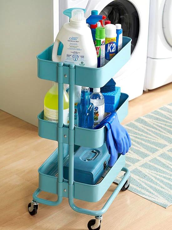 14 способов применения столика на колесах из IKEA