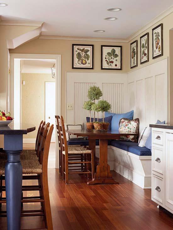 Кухонная зона дизайн
