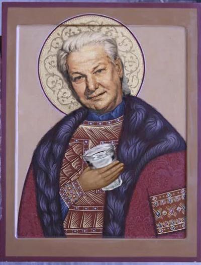 Ельцин, фанфик, творение интернета, святой Борис|Фото: vk.com