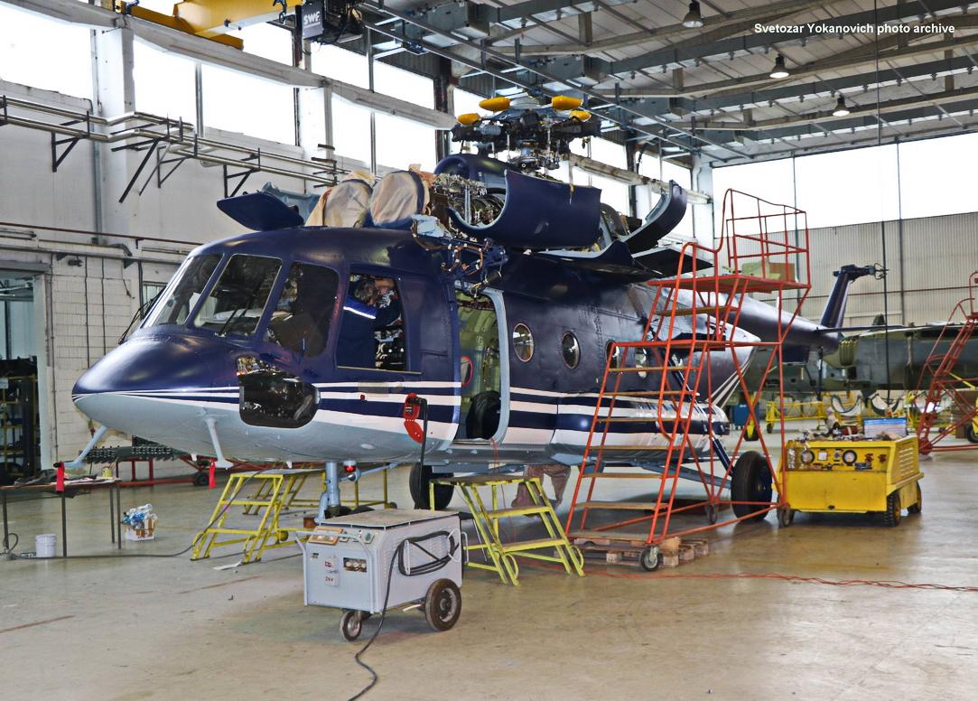 Ремонт македонских вертолетов Ми-171Е в Сербии