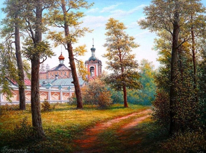 пейзажи Владимир Княгницкий - 03