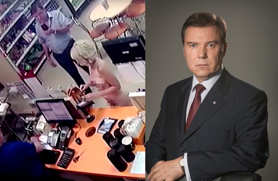 Судья подал в отставку после видео с обнаженной женщиной на заправке
