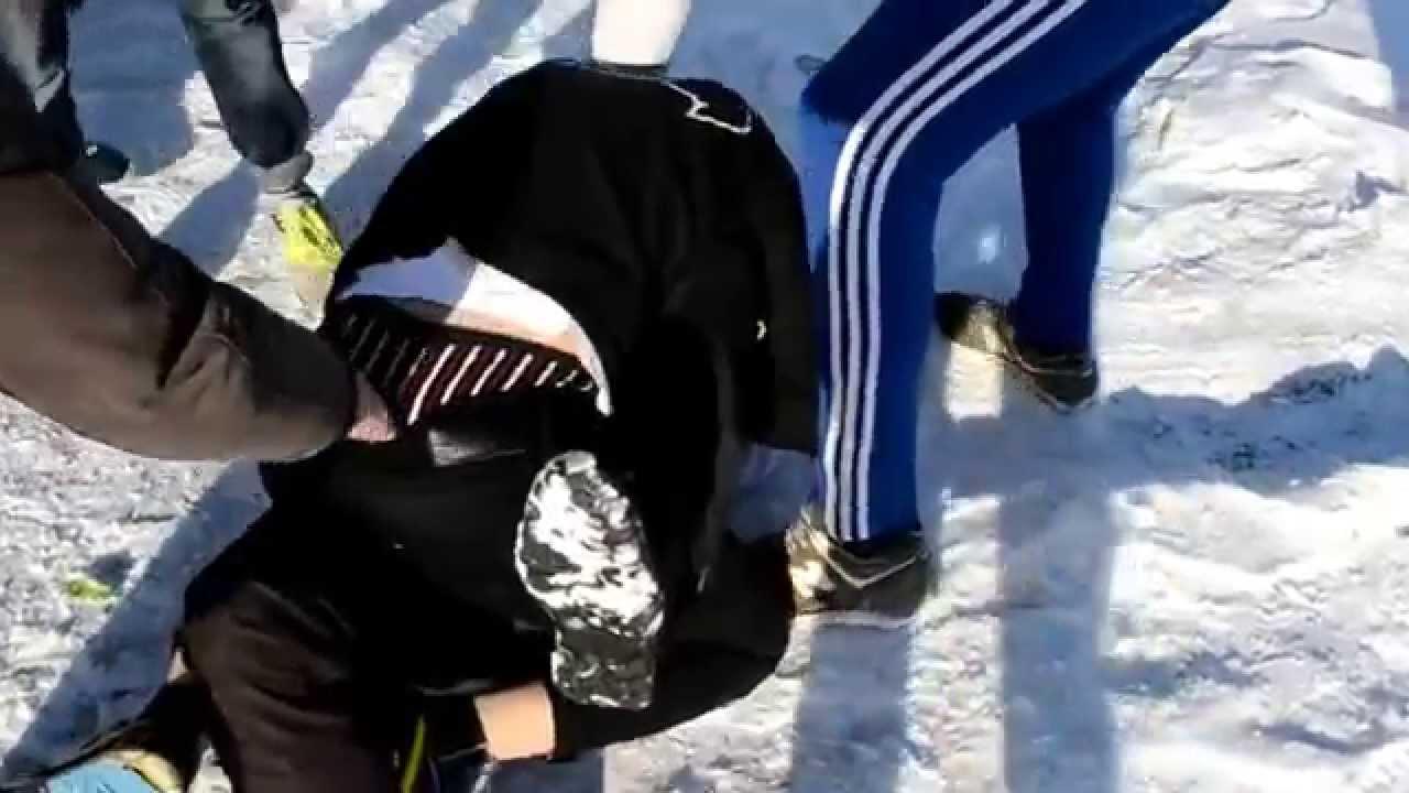 В Киеве охранники Кличко жес…