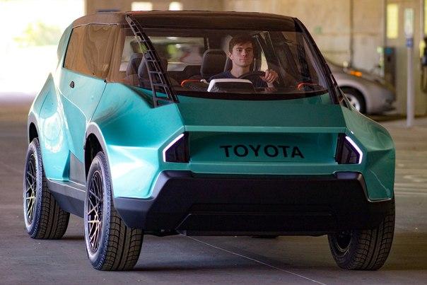 Студенты разработали автомобиль для «поколения зет»
