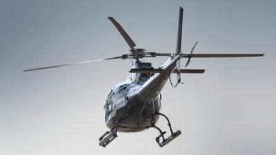 На КАД в Петербурге в аварию попал вертолет