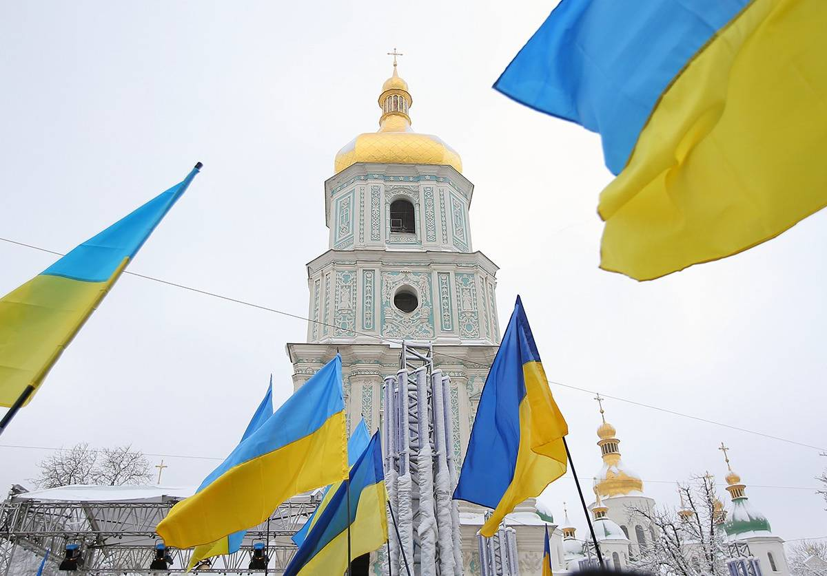 Захват храмов на Украине: ма…