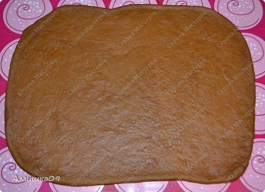 Этот хлеб - моя давнишняя мечта ))) Я наконец-то получила форму и сразу принялась его делать. Его можно выпекать и в простой прямоугольной форме для кекса или хлеба. фото 14