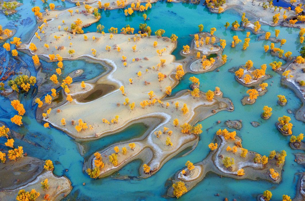 Лучшие фото Земли с высоты птичьего полета