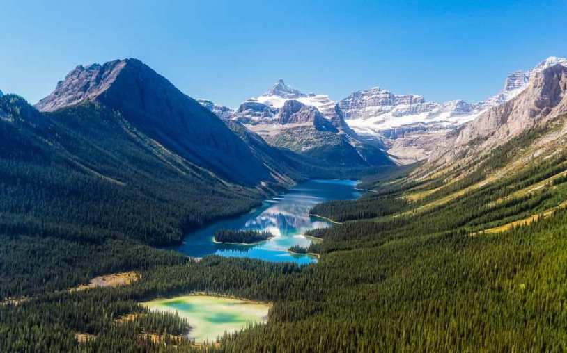 Завораживающая красота канадских Скалистых гор