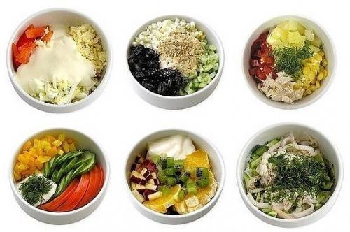 Мини — салатики (6 самых вкусных вариантов: