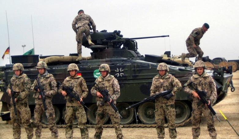 Немецкие войска возвращаются…