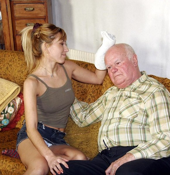 Фото молодые со старыми