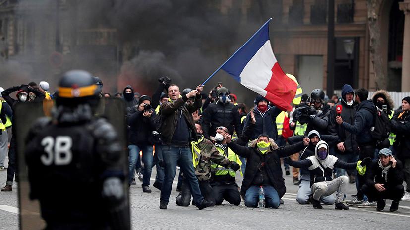«Редакция требует крови»: Русская служба BBC ищет «российский след» в протестах во Франции