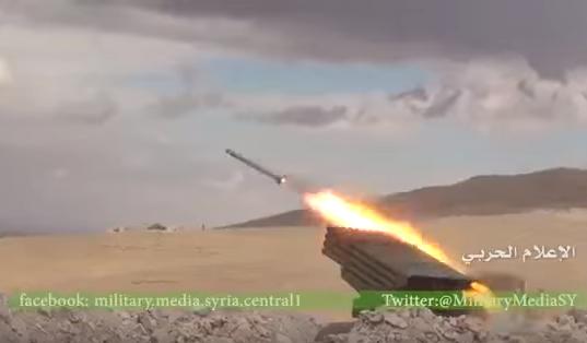 Штурм Карьятейна: ВКС России ночью охотятся на ИГИЛ, а утром наступает армия