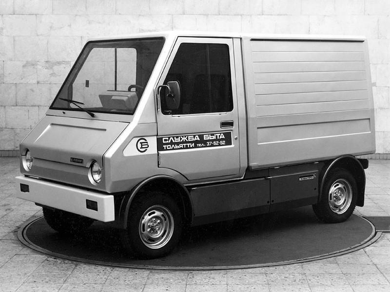 """ВАЗ 2702 """"Пони"""" (электрокар) авто, автомобили, былое, история, машины, ссср"""