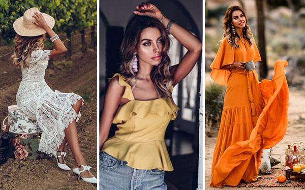 Как одеться женственно и стильно: летние образы 2018