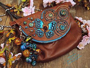 Декорируем сумочку к весенне…