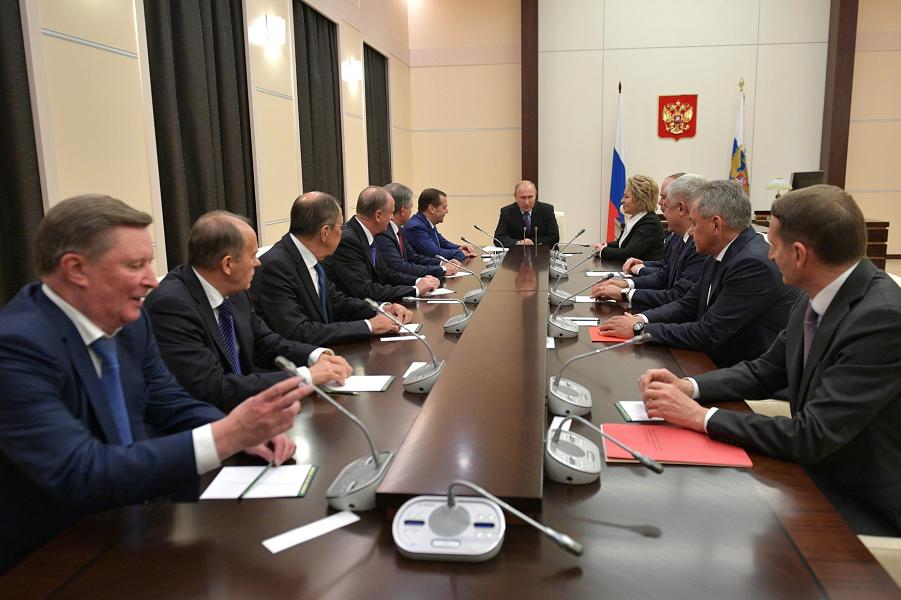 Совет Безопасности РФ обсудил украинскую автокефалию и ставропигию