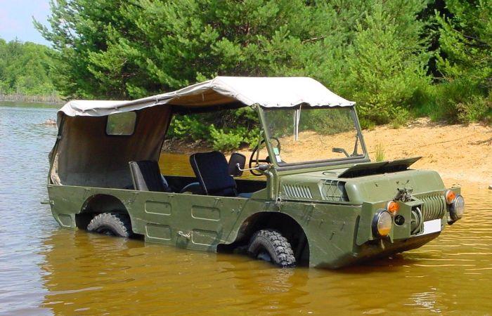 Советские вездеходы-амфибии, которыми интересуются современные туристы, охотники и рыболовы