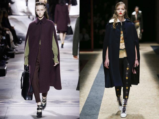 Модный обзор — пальто и плащи осень-зима 2016-2017