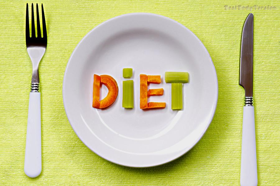 Снизить вес на диете невозможно.