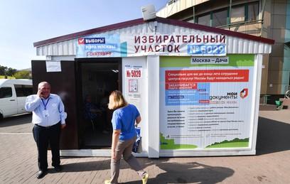 """Как проходит голосование на """"дачных"""" избирательных участках"""