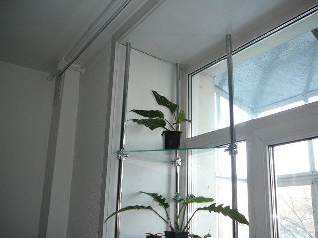 Полочки для рассады на окно