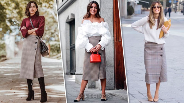 7 потрясающих образов на каждый день с одной и той же юбкой