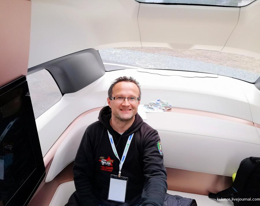 КАМАЗ-1221 и сеть 5G или первая в жизни поездка на беспилотном автомобиле.