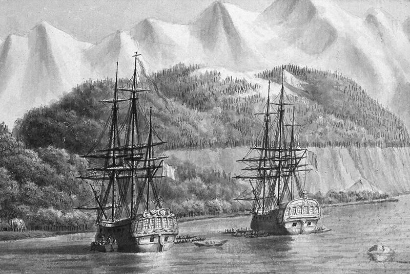 Кругосветная экспедиция Лаперуза. Новые встречи и новые потери