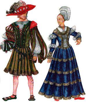 История моды. Костюм эпохи Возрождения. Германия