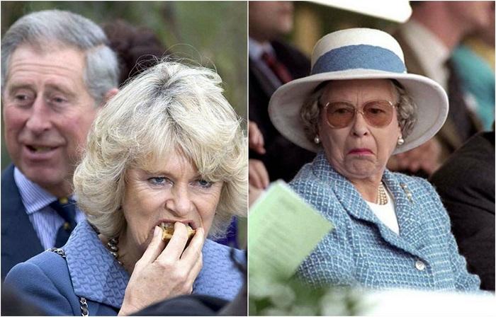 «Весёлые Виндзоры»: 20 неожиданных фотографий, на которых монархов застали врасплох