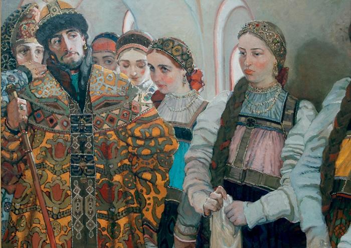 Выбор невесты. С. П. Голубечкова, 2006 г.| Фото: портал1.рф.