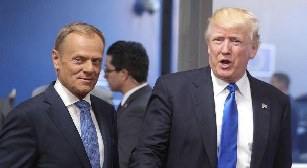 Туск: вбеседах сомной Трамп выражал понимание действиям России вКрыму