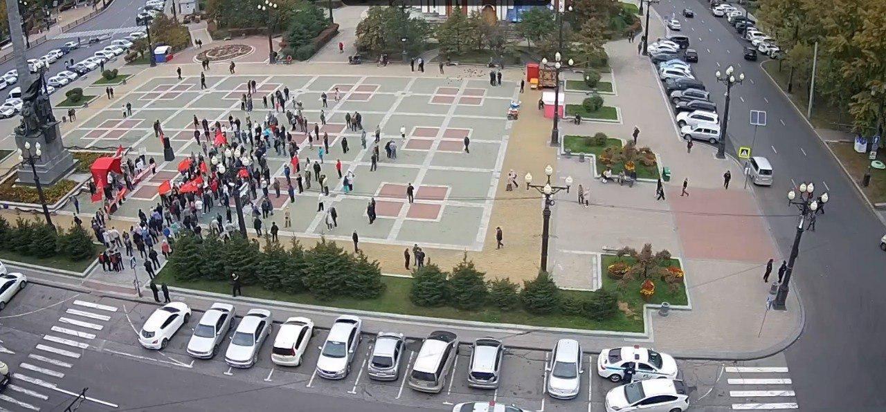 Это провал: граждане Дальнего Востока не поддержали КПРФ на митинге