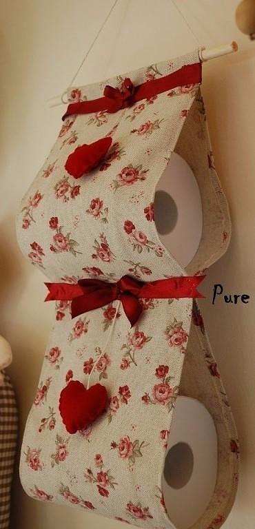 Храним туалетную бумагу красиво!