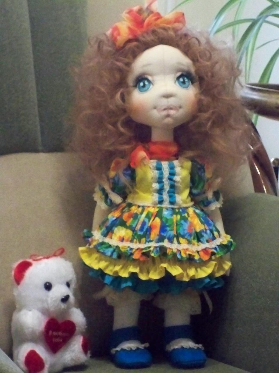 Текстильная кукла АЛИСА