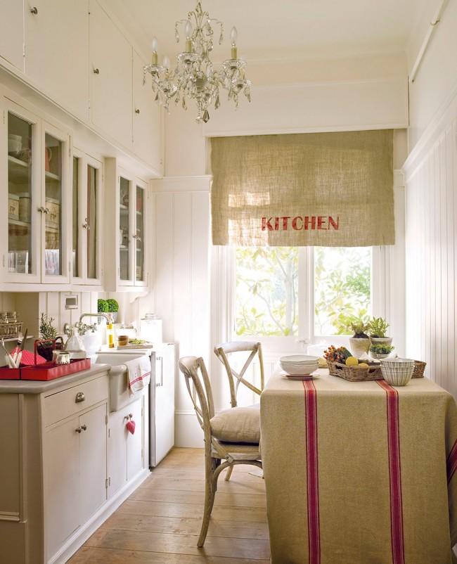 Кухня в стиле прованс - нежная и уютная