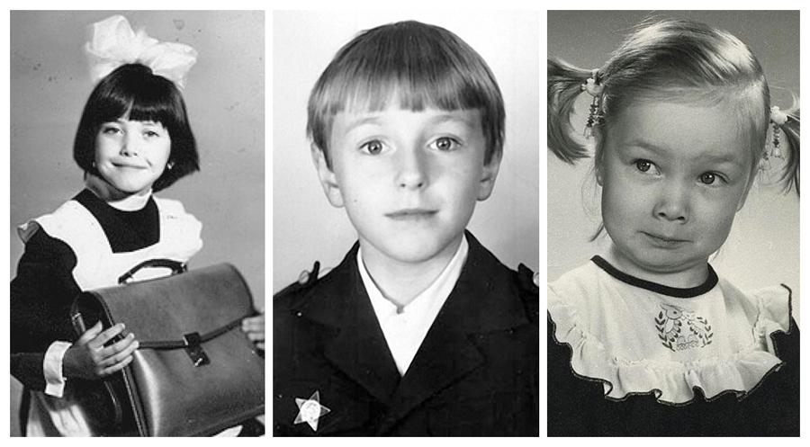 Знаменитости в детстве: фото из домашних архивов