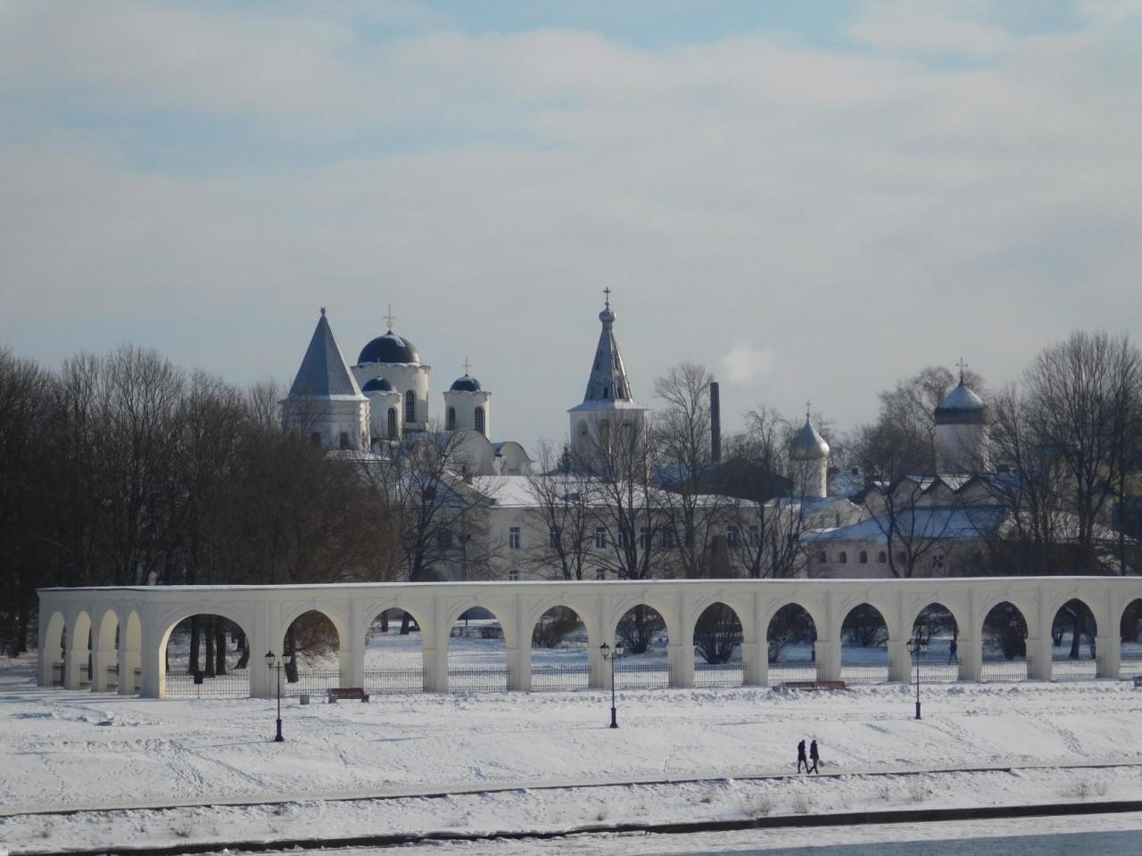 Господин Великий Новгород зимой. День 1-й. Часть 2.