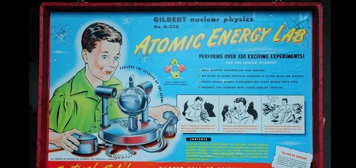 Опасная радиоактивная игра демонстрируется в музее