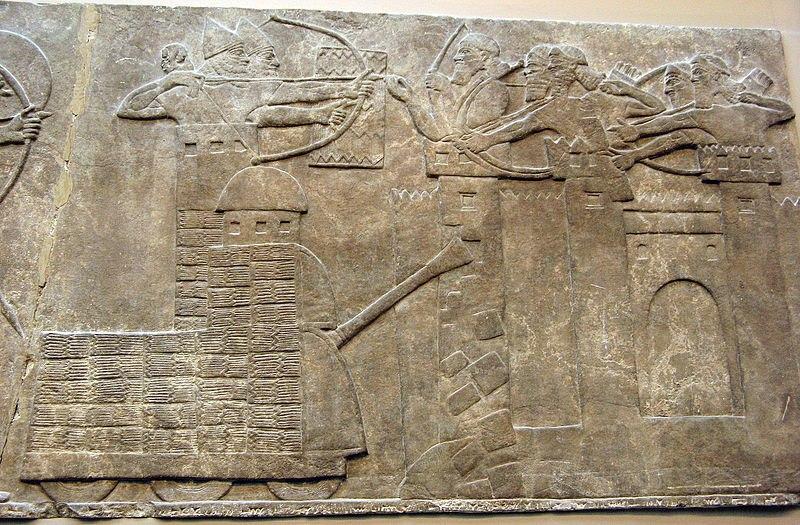 Загадочные танки на ассирийских барельефах.