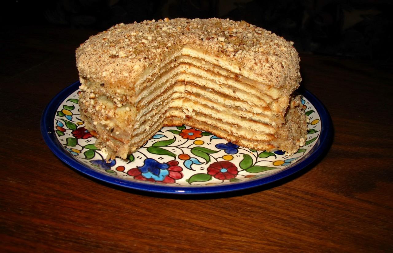 Как сделать крем торт из ничего