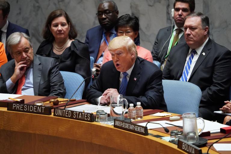 Заседание СБ ООН по ОМП