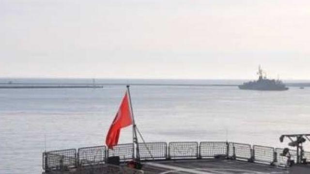 Корабли ВМС Турции зашли в порт в Одессе