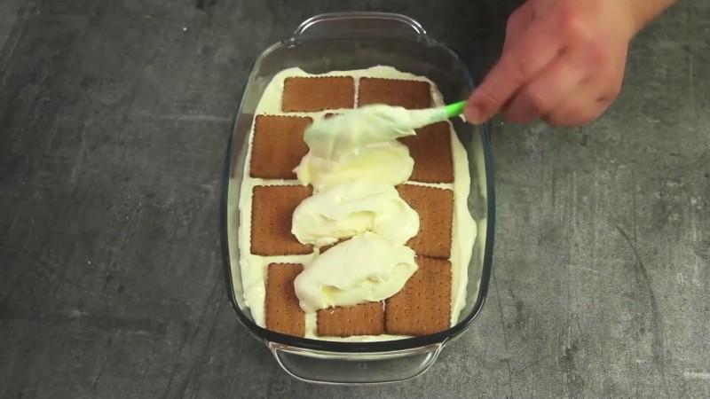 торт из печенья в домашних условиях