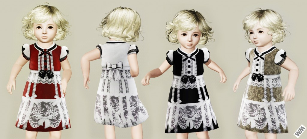 Платье в стиле Gothic от Watermelon