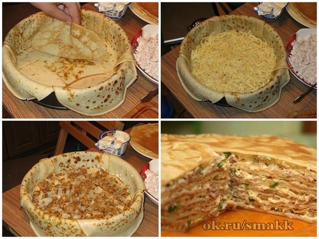 Пироги сытные рецепты с фото